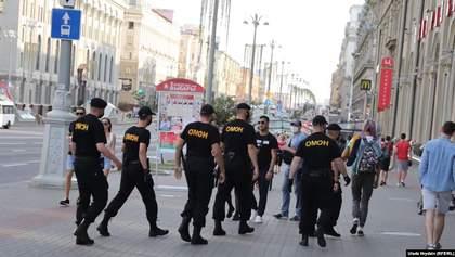 Протести в Мінську: ОМОН почав жорстко затримувати людей посеред вулиці – відео, фото