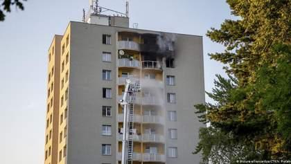 У Чехії палала багатоповерхівка, загинули 11 людей: поліція вважає, що це був підпал