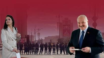 Вибори президента в Білорусі: затримання, проблеми з інтернетом і військова техніка на вулицях