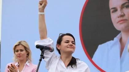 Беларусь охватили масштабные за последние десятилетия протесты: где в это время была Тихановская