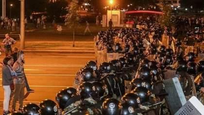 У Мінську ОМОН відкрив вогонь по людях: є поранені, зокрема й 2 журналістки