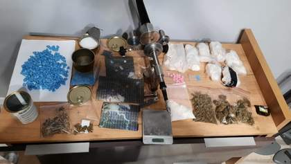 Столичные правоохранители изъяли у мужчины ЛСД, кокаина и экстази на 5 миллионов гривен