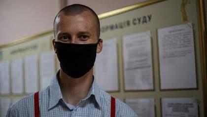 Кольченка покарали виправними роботами за участь у протесті під посольством Білорусі: деталі