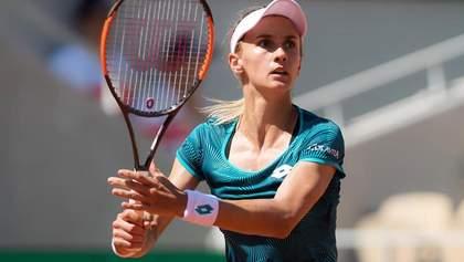 Українка Цуренко обіграла найкращу російську тенісистку на турнірі в Празі