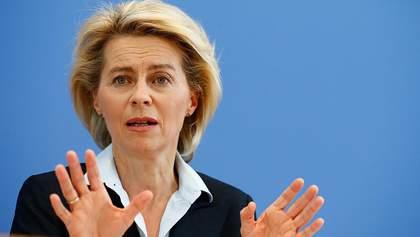Президентка Єврокомісії вимагає ввести санкції проти Білорусі