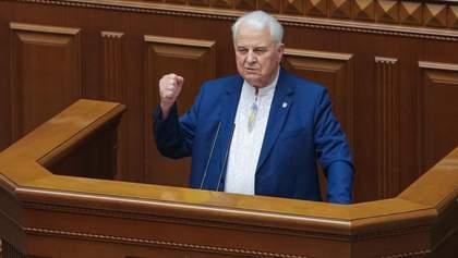 Украина предложит варианты переговоров с боевиками, – Кравчук