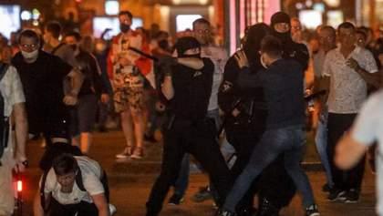Удар, вспышка-и я ослеплена светом: журналистку из ЕС ранили на протестах в Минске
