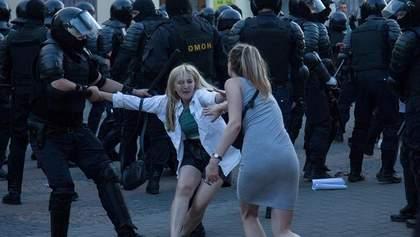 Зґвалтування жінок під час протестів у Білорусі: слідчі Лукашенка кажуть, що ніхто не скаржився