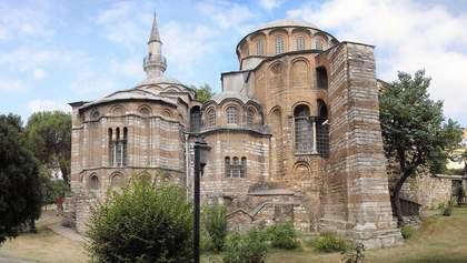 Ердоган перетворив на мечеть ще один візантійський храм у Туреччині