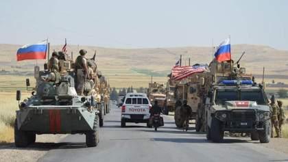 """Російські військові у Сирії влаштували """"ДТП"""" американцям, є поранені: відео"""