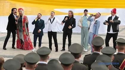 Олександр Ткаченко пояснив, чому у попурі на День Незалежності звучали російські пісні