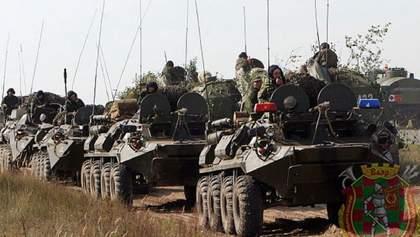 В Беларуси снова проводят военные учения: привлекли танки, артиллерию, авиацию