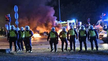 У Швеції спалахнули заворушення після спалення Корану: фото вуличного протистояння