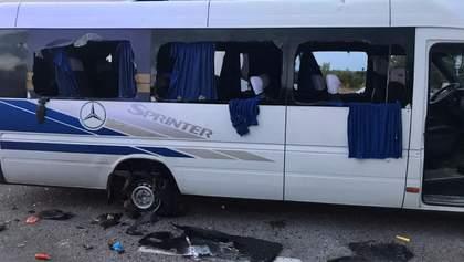 Расстрел автобуса под Харьковом: суд арестовал всех 16 подозреваемых