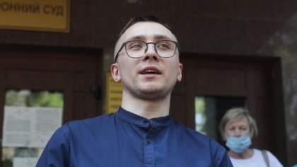 Стерненка намагалися облити під судом в Одесі: активіст оприлюднив фото виконавців замаху