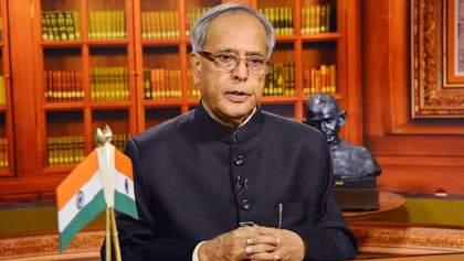 Після зараження коронавірусом помер тринадцятий президент Індії Мукерджі