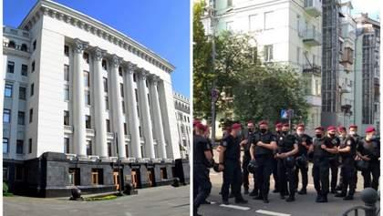 Затримання чоловіка з гранатою біля Офісу Президента: в поліції відкрили справу