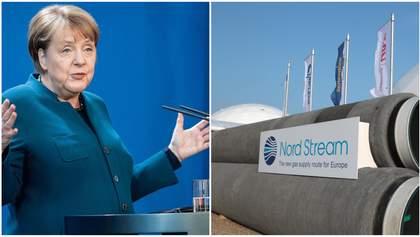 """Меркель: """"Северный поток-2"""" достроят вопреки санкциям США"""
