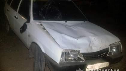 Пьяный водитель сбил 3 пешеходов под Запорожьем: есть жертва