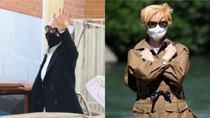 Стильные наряды и маски: кто из актеров приехал на Венецианский кинофестиваль – фото