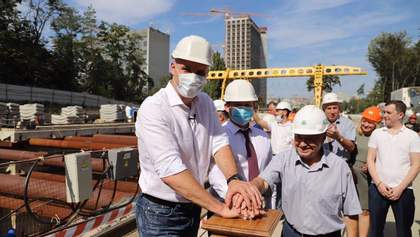 Сьогодні ми запустили комплекс, що буде прокладати тунель метро на Виноградар, – Кличко