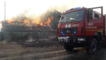 Пожежа в Харківській області повністю знищила ціле село: жахливі фото