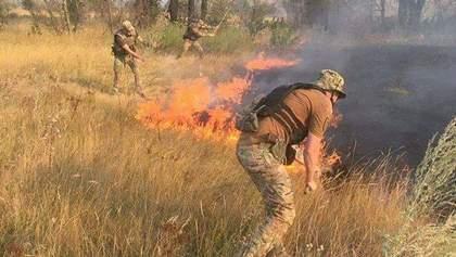 Пожежі на Луганщині: одна людина загинула, двох військових госпіталізували з опіками