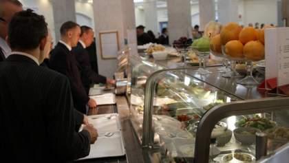 Депутатские обеды: сколько стоит поесть в столовой Верховной Рады – фото меню