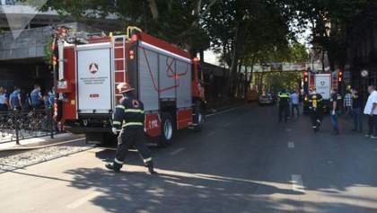 У центрі Тбілісі стався вибух: є постраждалі та загиблий – відео, фото