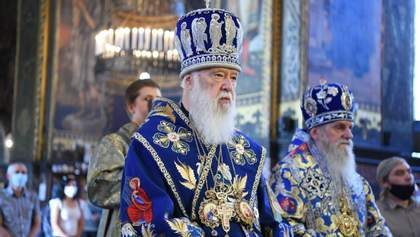 Коронавирус у Филарета: у патриарха диагностировали воспаление легких