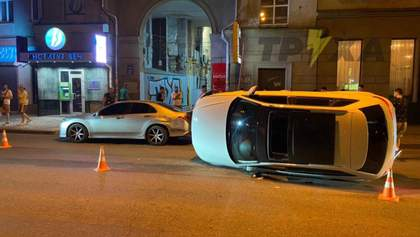 Дружину заступника мера Сум оштрафували за ДТП у центрі Харкова