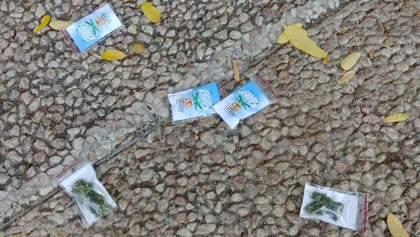 Розкидали з дрона марихуану, щоб прорекламувати магазин: фото та відео з Ізраїля