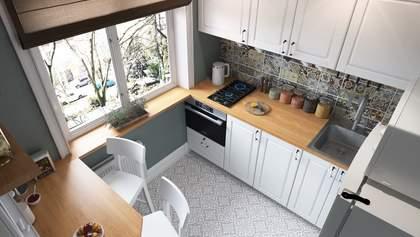 Як вибрати гарнітур для маленької кухні: 5 кроків