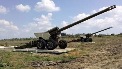 Беспилотник ОБСЕ зафиксировал вооружение, которое боевики размещают с нарушениями