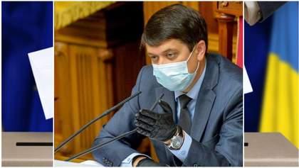 Разумков озвучив свою позицію щодо місцевих виборів на Донбасі