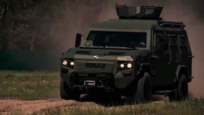 Техника войны: мощные бронемашины, которые доехали до района боевых действий на Донбассе