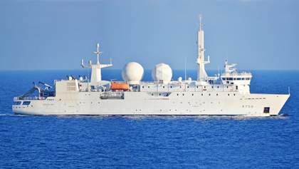 Розвідувальний корабель НАТО зайшов у Чорне море: він уже тут не раз відзначався – фото