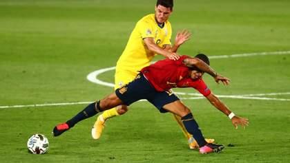 Хто найгірший гравець збірної України у матчі з Іспанією? Опитування
