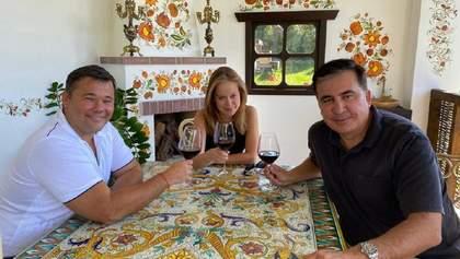 У меня с Андреем дружеские отношения: Саакашвили прокомментировал фото с Богданом