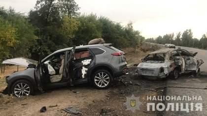 Жуткая авария на Запорожье: есть погибшие и раненые – фото