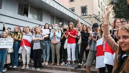 Затримання опозиціонерів, протести студентів: що відбувається у Білорусі 9 вересня – фото, відео