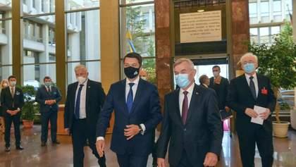 Когда Верховная Рада примет решение относительно событий в Беларуси: ответ Разумкова