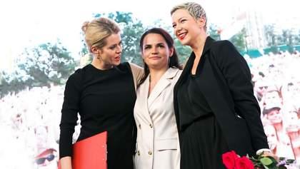 Відважні жінки: Тихановську, Колесникову і Цепкало номінували на премію Сахарова