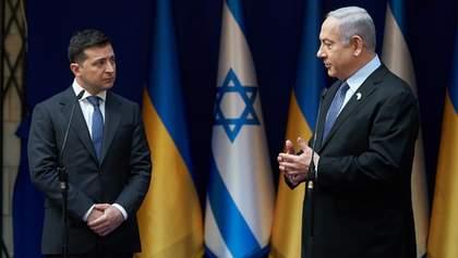 Україна не переноситиме посольство в Ізраїлі до Єрусалима, – Зеленський