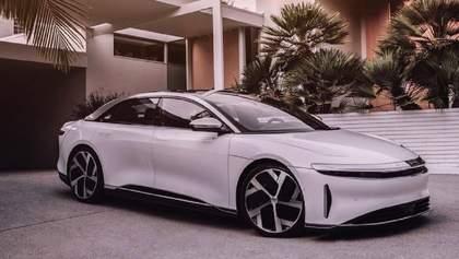 Lucid Motors представила свою альтернативу электрокарам Tesla