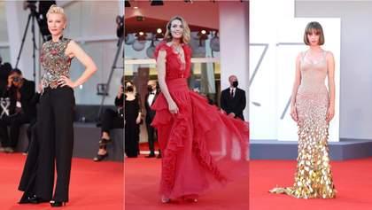 Самые роскошные образы звезд на Венецианском кинофестивале: фото