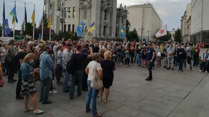 Через ситуацію біля Шумів активісти прийшли до Зеленського: що вимагали – фото, відео