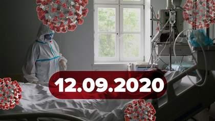 Новини про коронавірус 12 вересня: рекордна кількість смертей, шокуюча статистика