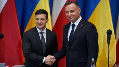 Дуда пообіцяв Зеленському приїхати в Україну, поговорили й про Білорусь