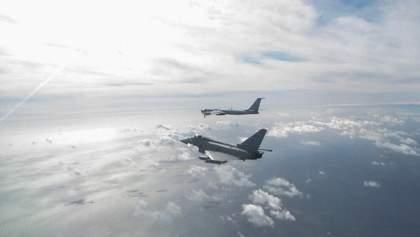 Истребители Британии перехватили российские самолеты у побережья Шотландии